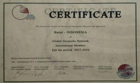 Certificate of 5th APGN Simposium 2017